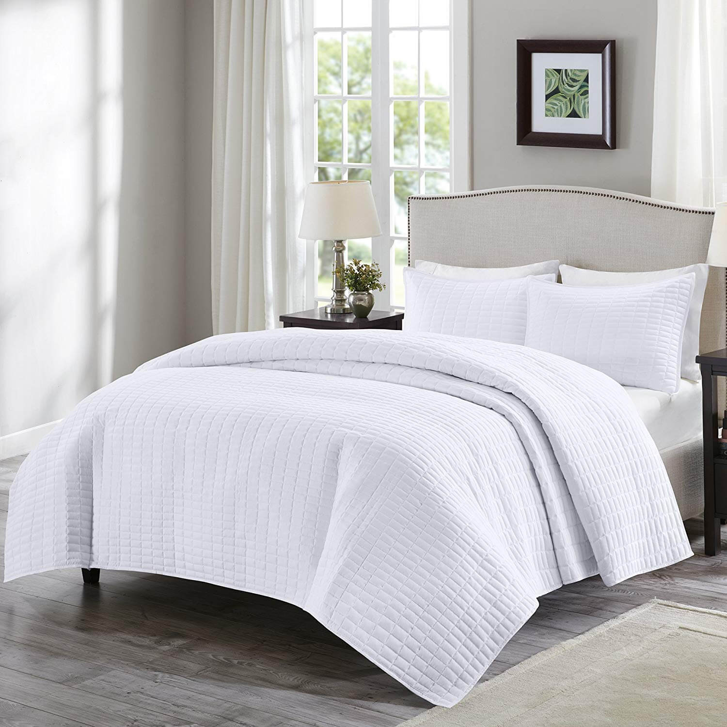 4. Comfort Spaces - Kienna Quilt Mini Set - 2 Piece
