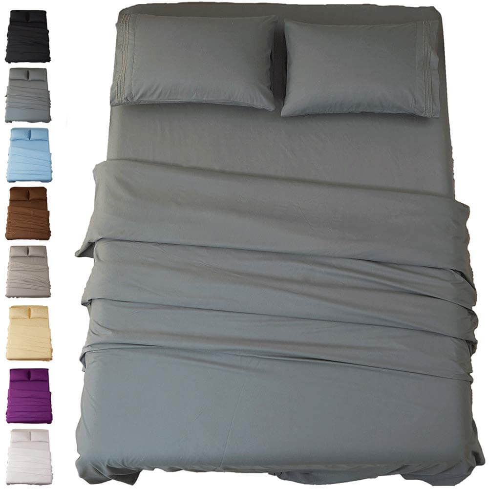 8. Sonoro Kate Bed Sheet Set Super Soft Microfiber