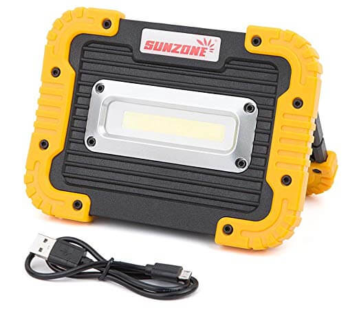 5. SUNZONE Portable LED COB Work Light