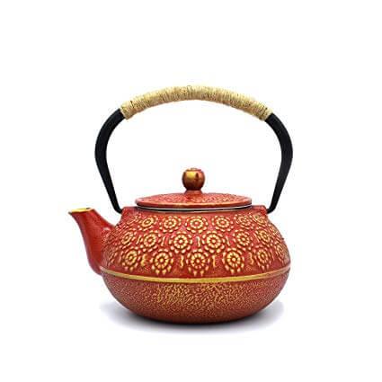 4. JINGYAT Cast Iron Teapot