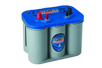 2. Optima Batteries 8016-103 D34M BlueTop Starting and Deep Cycle Marine Battery