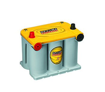 4. Optima Batteries 8014-045 D34/78 YellowTop Dual Purpose Battery