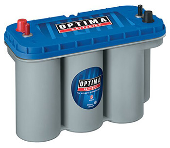 1. Optima Batteries 8052-161 D31M BlueTop Starting and Deep Cycle Battery
