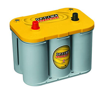 3. Optima Batteries 8012-021 D34 YellowTop Dual-Purpose Battery
