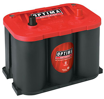 7. Optima Batteries 8003-151 34R RedTop Starting Battery