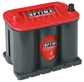 8. Optima Batteries 8025-160 25 RedTop Starting Battery
