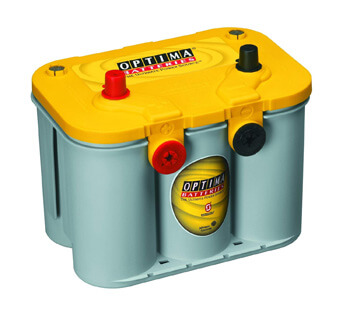 5. Optima Batteries 8040-218 D35 YellowTop Dual Purpose Battery