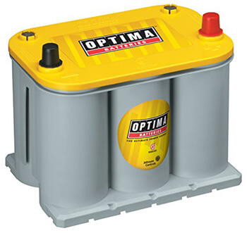 6. Optima Batteries 8040-218 D35 YellowTop Dual Purpose Battery
