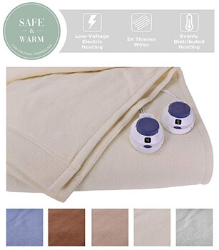 Top 10 Best Portable Electric Queen Size Blankets In 2020