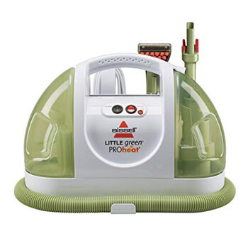 2. BISSELL Little Green Pro Heat Portable Carpet and Upholstery Cleaner, 14259