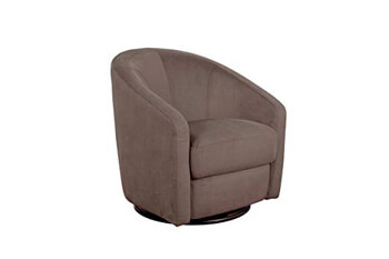 1. Babyletto Madison Swivel Glider, Slate Microsuede