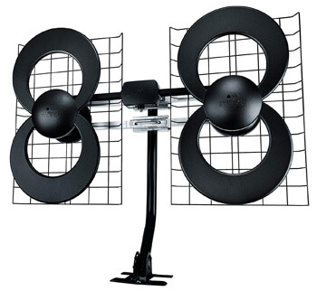 10. ClearStream 4 Indoor/Outdoor HDTV Antenna