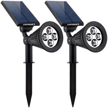 3. URPOWER Solar Lights 2-in-1 Solar