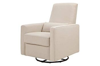 3. DaVinci Piper All-Purpose Upholstered Recliner and Swivel Glider