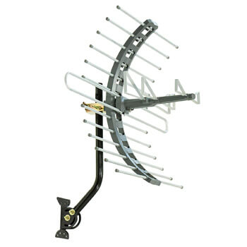 4. GE Pro Attic Mount TV Antenna.