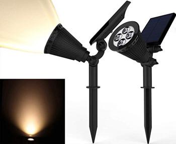4. Magictec Solar Spotlights,
