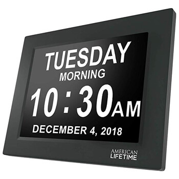4. American lifetime day clock large