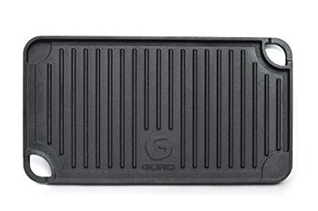 4. GURO Cast Iron Pre-Seasoned Double Play Griddle