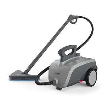 8. Pure Enrichment Pure Clean XL Rolling Steam Cleaner