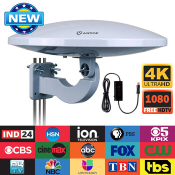 Best Outdoor TV Antenna for Rural Areas Reviews - Only Portable
