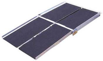 2: Prairie View Industries WCR630 Portable Multi-fold Ramp, 6 ft. x 30 in