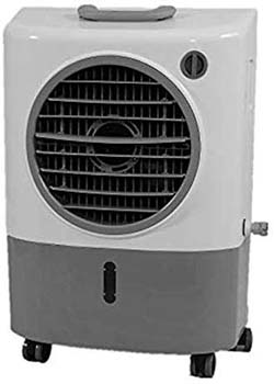 10: Hessaire Products MC18M Mobile Evaporative Cooler, 1,300 Cfm, Gray