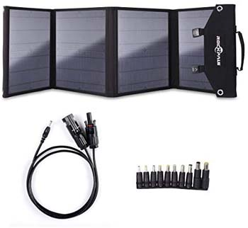 9: ROCKPALS Foldable 60W Solar Panel Charger