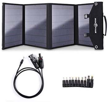 1: Rockpals 100W Foldable Solar Panel Charger