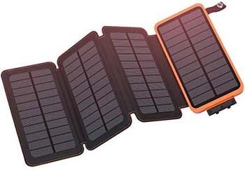 3: Hiluckey Solar Charger 25000mAh, Hiluckey Outdoor Portable Power Bank