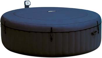 6: Intex Pure Spa 6 Person Inflatable Portable Outdoor Bubble Jets Hot Tub