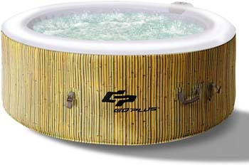5: Goplus 4-6 Person Outdoor Spa Inflatable Hot Tub
