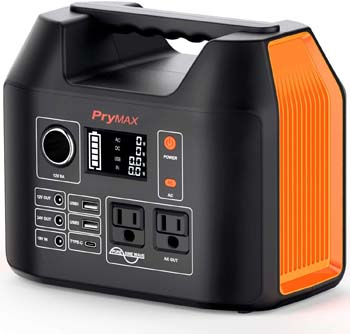 3: PRYMAX Portable Power Station, 300W Solar Generator