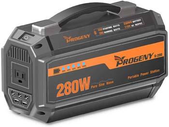 4: PROGENY 280W Generator Portable Power Station