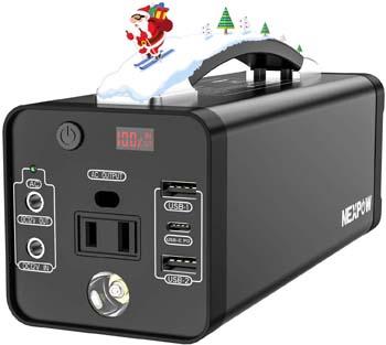 8: NEXPOW Portable Power Station, 178Wh Solar Generator