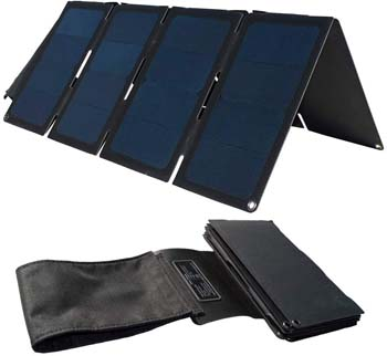 5: TP-solar 60W Portable Foldable Solar Panel Charger Kit