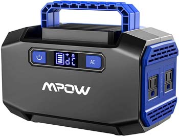 1: OMORC Mpow Portable Power Station 167Wh 45000mAh Portable Power Supply