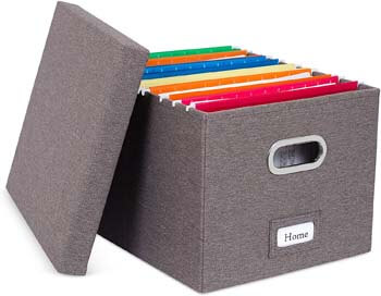 3. Internet's Best Collapsible File Storage Organizer