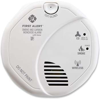 8. First Alert SCO501CN-3ST Battery Operated Combination Smoke and Carbon Monoxide Alarm