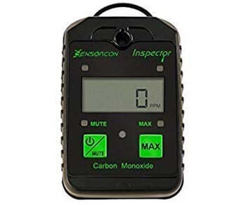1. Sensorcon Inspector CO Carbon Monoxide Monitor with Visual and Audible Alerts, Waterproof