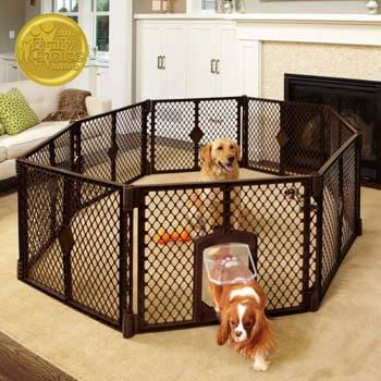 8. North States MyPet Indoor/Outdoor Petyard. Pet enclosure
