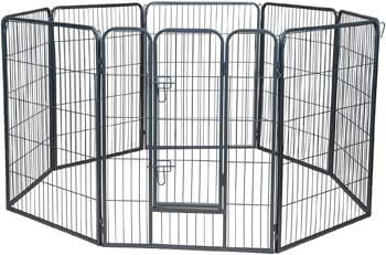1. Paws & Pals Wire Pen Dog Fence Playpen