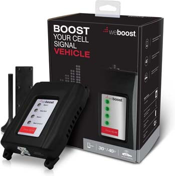 9. weBoost Drive 4G-M (470108) Vehicle Cell Phone Signal Booster 4G LTE