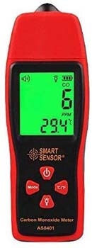 9. GXG-1987 AS8401 Handheld Carbon Monoxide Meter, High Accuracy 0-1000PPM CO Gas Detector