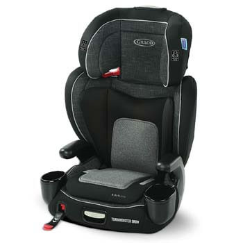 10. Greco TurboBooster Grow High Back Booster Seat, Featuring RightGuide Seat Belt Trainer, West Point