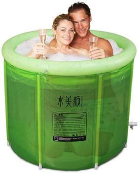 3. Good home Double Inflatable Bathtub
