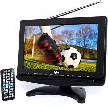 "4. Tyler TTV706 10"" Portable Widescreen 1080P LCD TV"