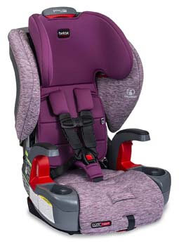 5. Britax USA E1C199G Britax Grow with You ClickTight Harness-2-Booster Car Seat
