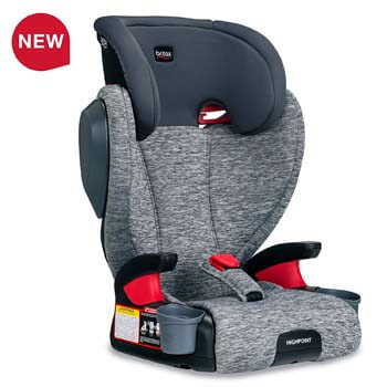 4. Britax Highpoint 2-Stage Belt-Positioning Booster Car Seat