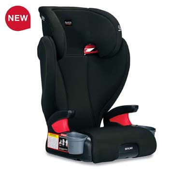 8. Britax Skyline 2-Stage Belt-Positioning Booster Car Seat