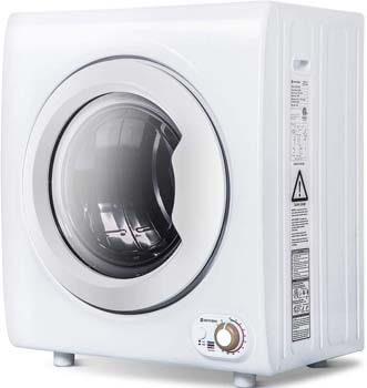 4. Merax Sentern 2.65 Cu. Ft Compact Laundry Dryer